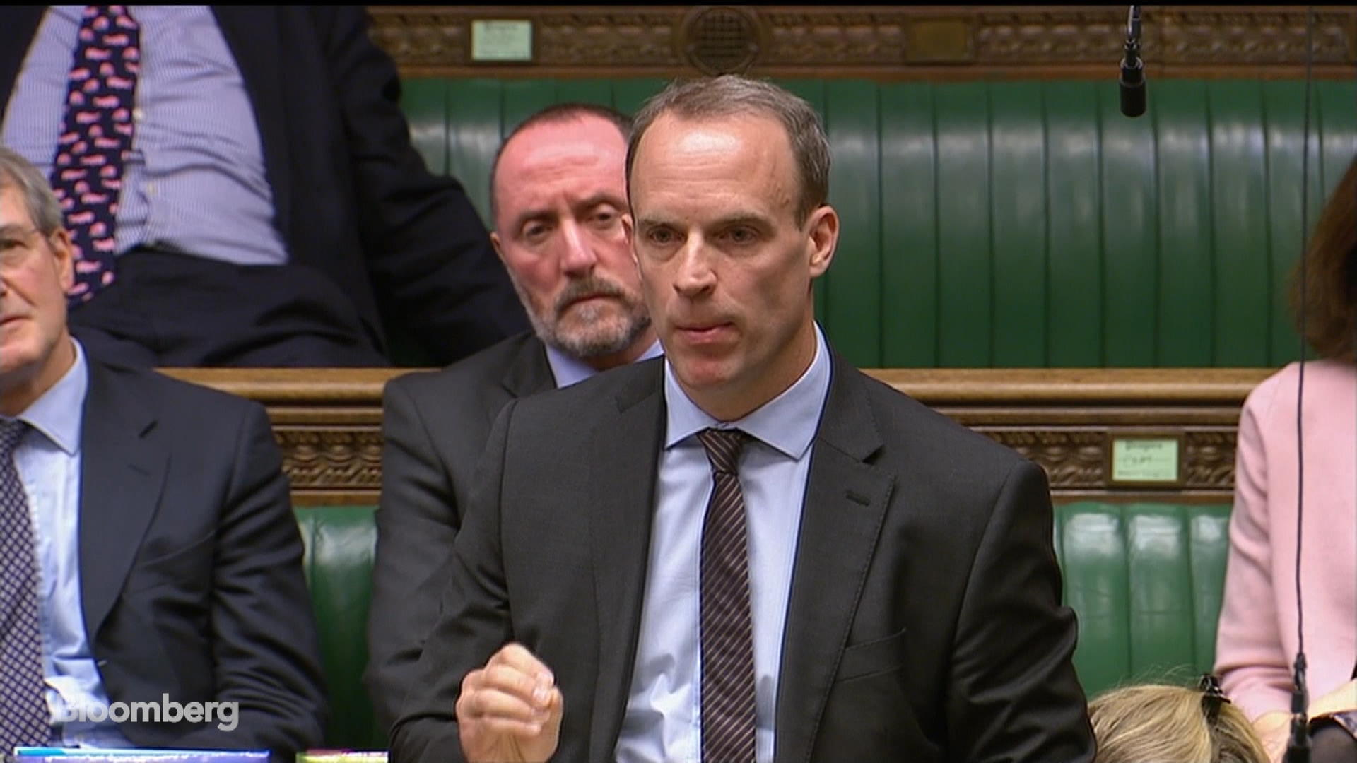 Brexit Hardliner Raab Says He'll Back May's Deal