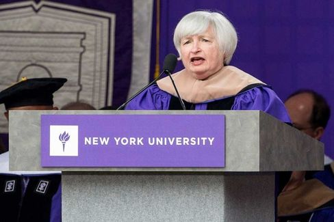 Janet Yellen Conjures Ghosts of Ruth, Gehrig, and DiMaggio