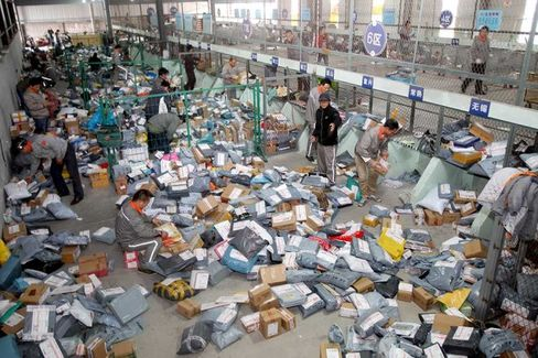 Alibaba and China's Shipping Problem