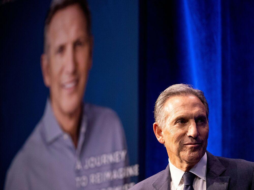 Schultz's Independent Bid in 2020 Would Help Trump, Poll Finds