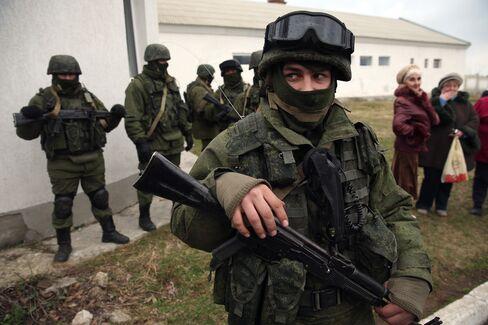 Soldiers in Ukraine