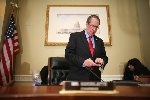 House Judiciary Committee Chairman Bob Goodlatte