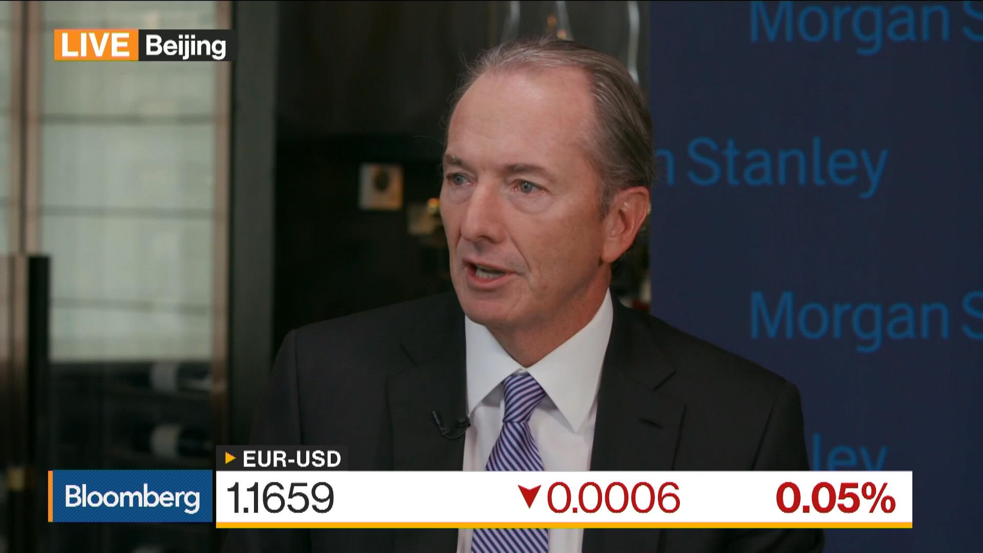 Morgan Stanley S Gorman Says Fed Wants Normal Rate Environment Bloomberg