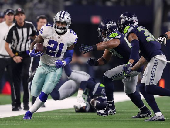 Dallas Cowboys' Ezekiel Elliott Runs 21 Miles an Hour, But Who Owns That Data?