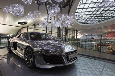 Audi's R8 Luxury Automobile