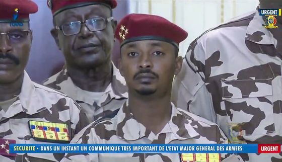 Chad Leader's Son Takes Power as U.S. Urges Legal Transition