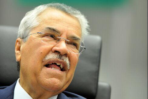 Oil Minister Ali al-Naimi