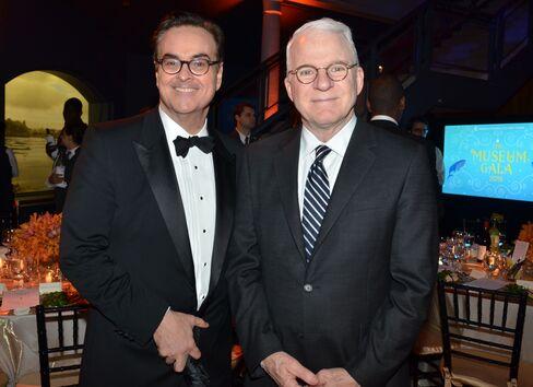 Steve Higgins and Steve Martin