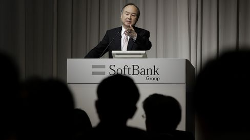 SoftBank Group Corp. Chairman Masayoshi Son Attends Earnings News Conference