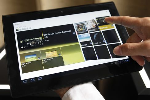 Movies Will Give Sony Tablets Edge: Stringer