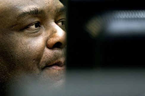Former Congolese Vice President Jean-Pierre Bemba.