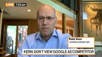 relates to Expedia is Fine on Cash, Says CEO Peter Kern