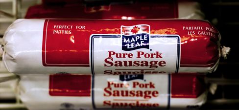 Maple Leaf Cheapest as Food Makers Seek Deals
