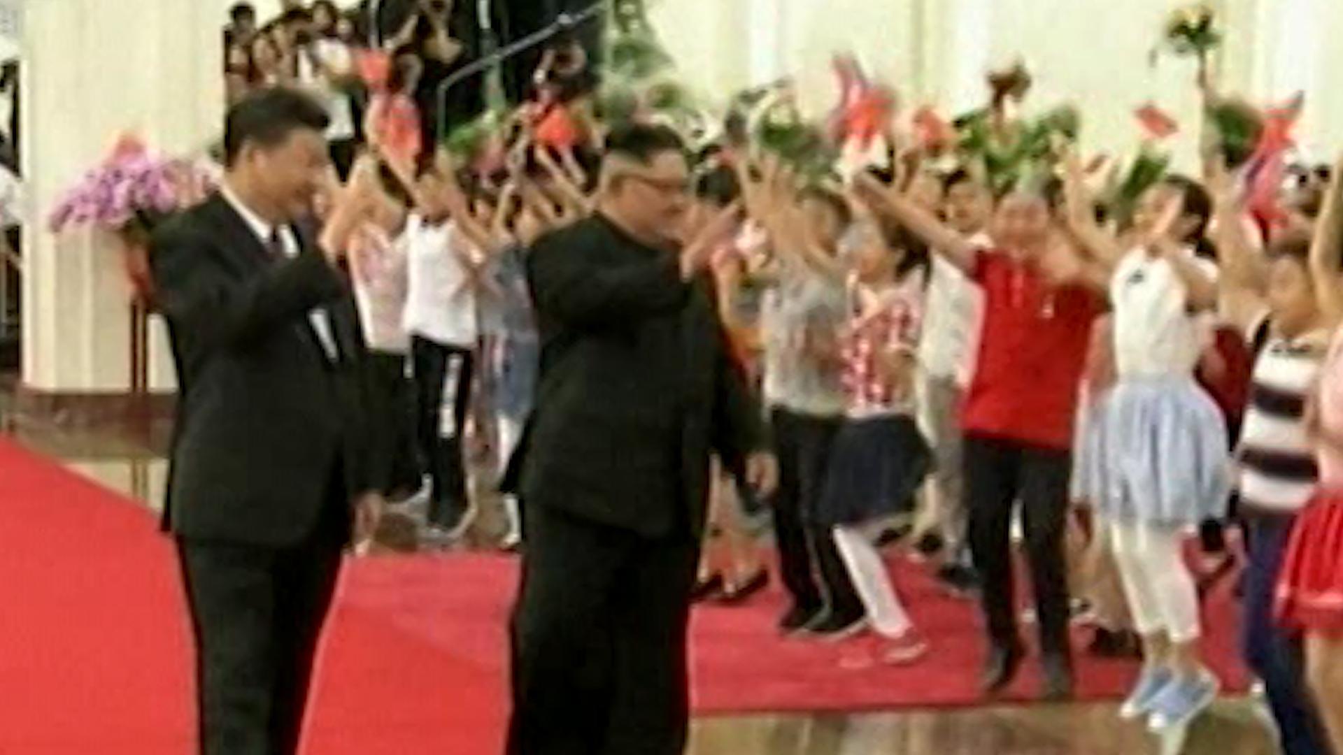 Hasil gambar untuk North Korea's Kim Jong Un Calls For Step-By-Step Denuclearization