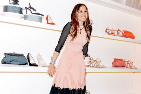 Sarah Jessica Parker Gets Back to Serious Business???Shoes