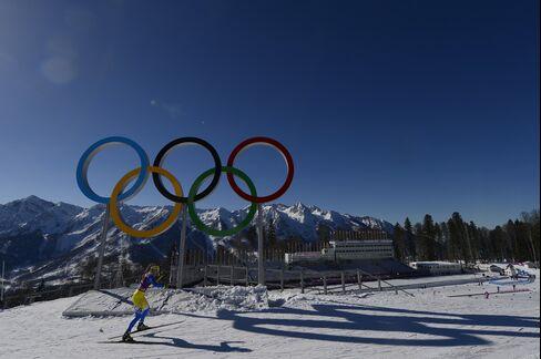 Cross Country Skiing in Rosa Khutor