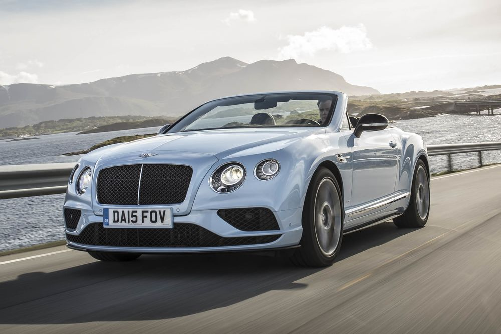 2017 Bentley GT V8 S Convertible