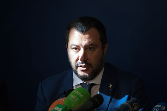 Italy's Salvini Sticks to His Guns After Teasing Markets
