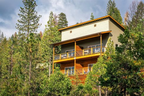 Rush Creek Lodge, the first hotel to open in Yosemite in more than 25 years.