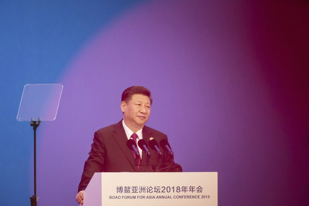 Xi Seeks Global Tech Cooperation After U.S. Blocks Huawei