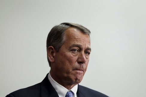 Boehner Says 'There's No Progress to Report' on Fiscal Cliff
