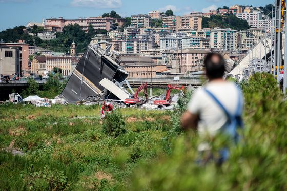 After Italian Bridge Tragedy, Board Waits a Week for Meeting