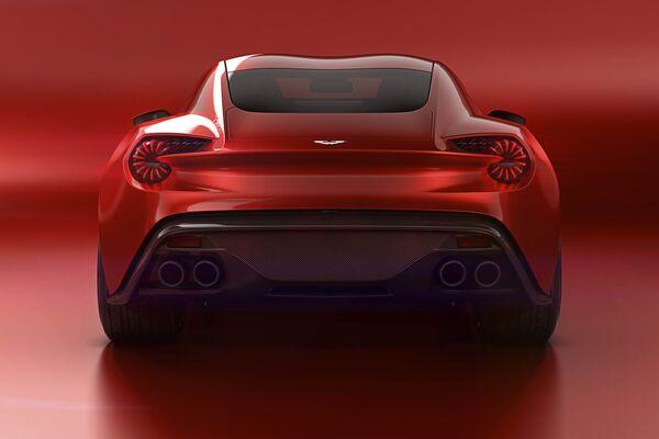 Aston Martins Vanquish Zagato Is The Most Beautiful Car Of - Aston martin zagato price