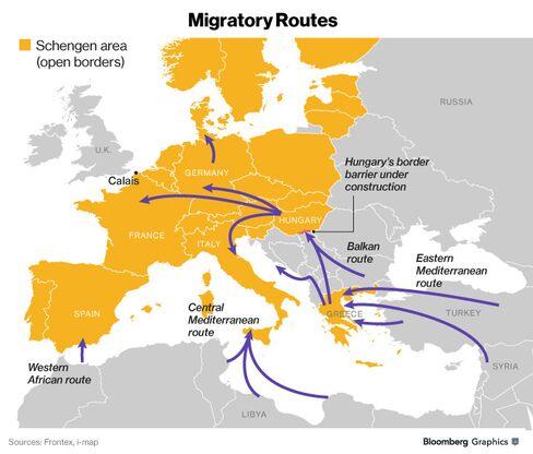 Source: Frontex, i-map