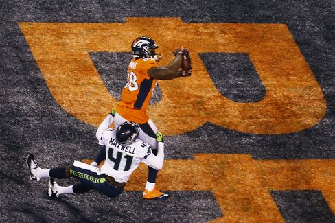 Denver Broncos' Demaryius Thomas