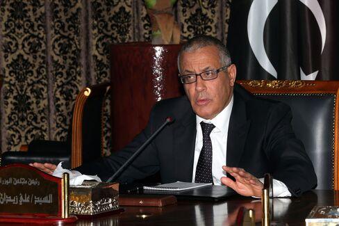 Libyan Prime Minister Ali Zaidan