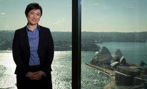 Australian Finance Minister Penny Wong