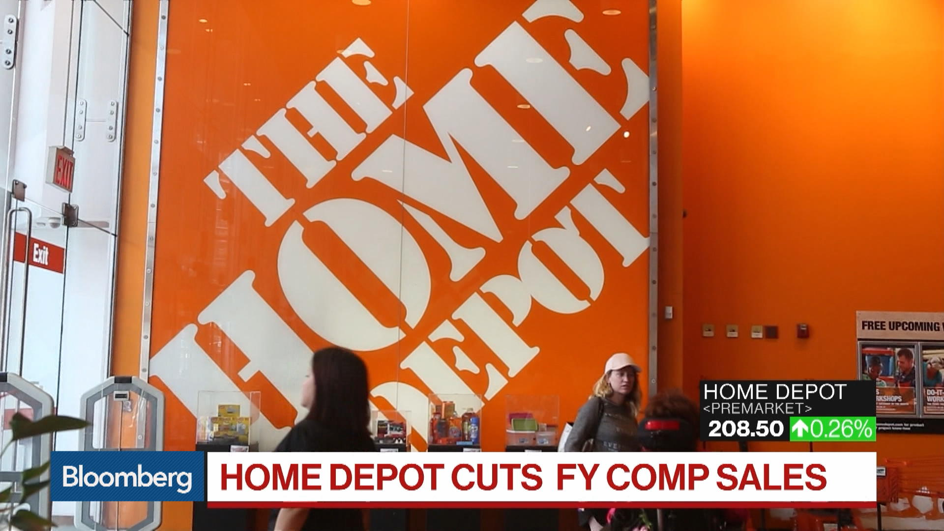 HD:New York Stock Quote - Home Depot Inc/The - Bloomberg Markets