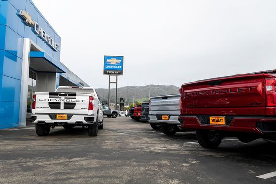 GM Idles Truck Plants Again on Chip Shortage After August Sales Slump