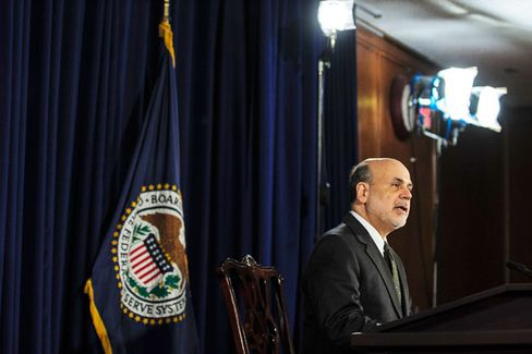 Fed's Near-Future Plans: 'Letting Up a Bit on the Gas Pedal,' Bernanke Says