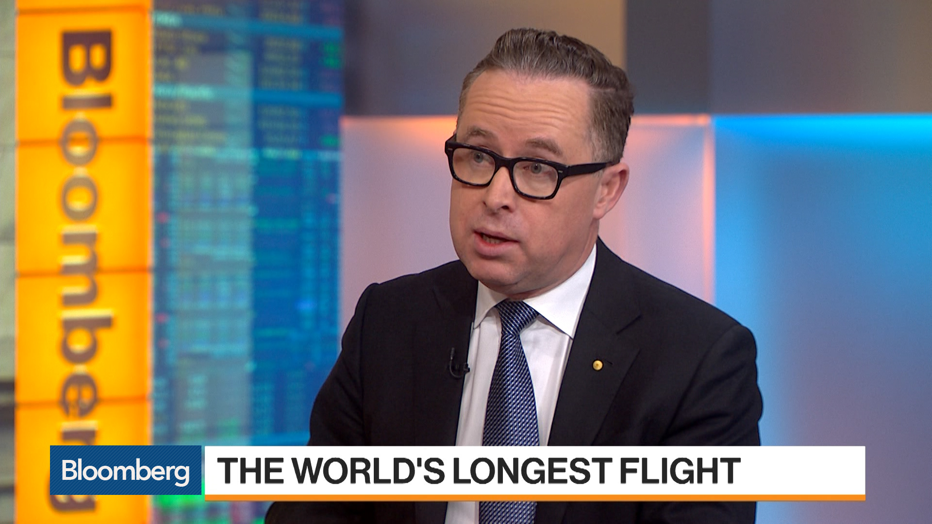Qantas Airways CEO, Alan Joyce, Sees Demand For 20 Plus Hour Flight From New York to Sydney