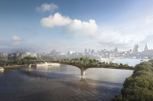 The Garden Bridge.