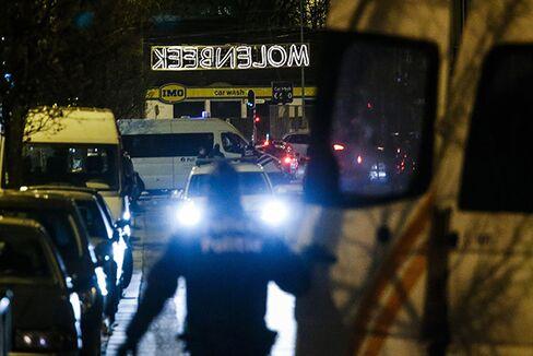 Police search in Molenbeek