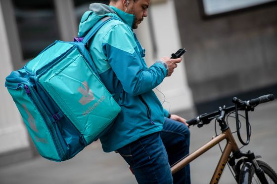Deliveroo Shares Jump After Delivery Hero Buys Stake