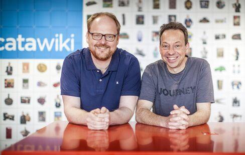 Rene Schoenmakers, right, and Marco Jansen