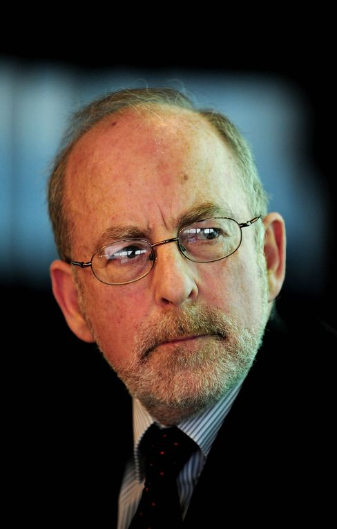 Patrick Honohan, outgoing governor of the Irish Central Bank.