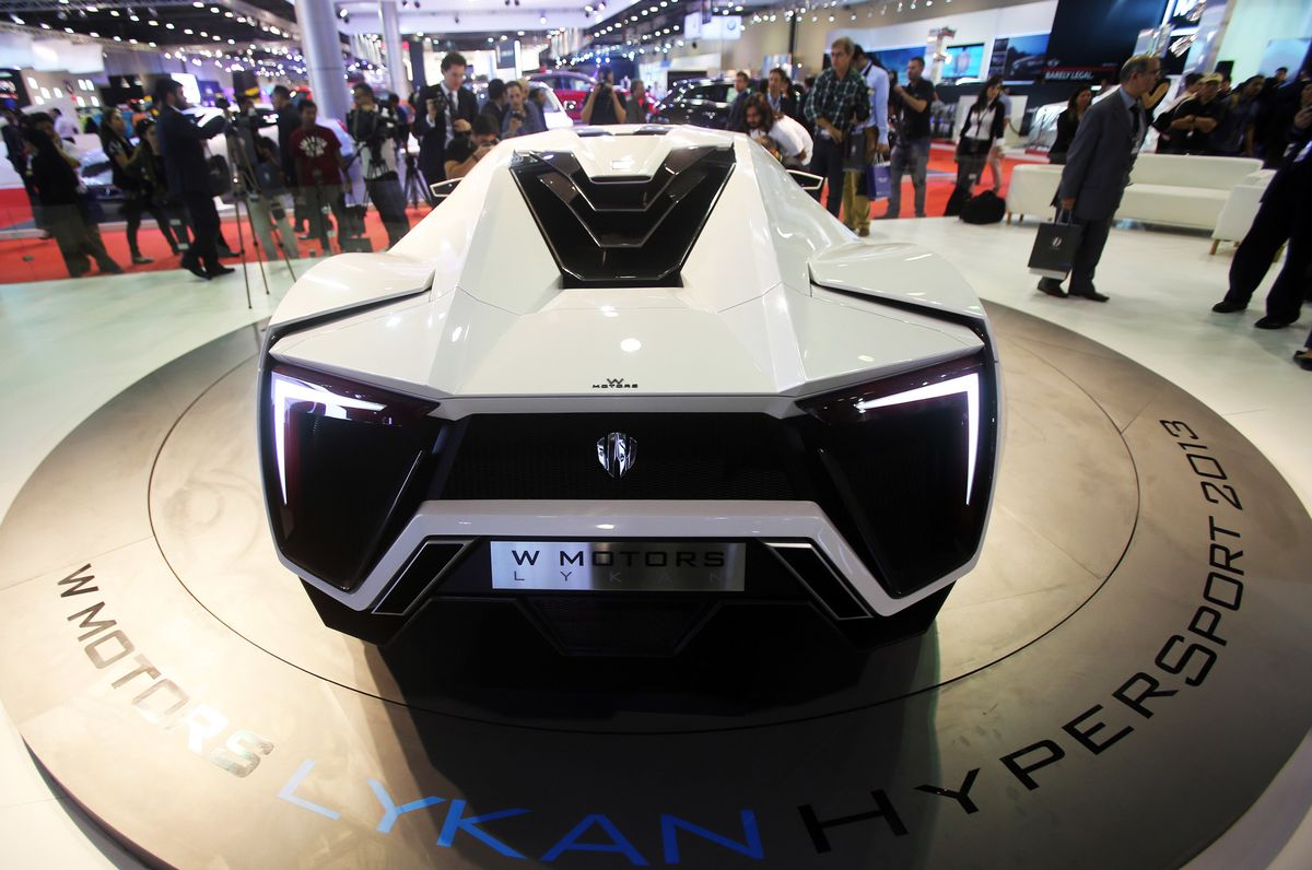 The Lykan HyperSport Premiered At The International Dubai Motor Show In  2013. Top Speed Is