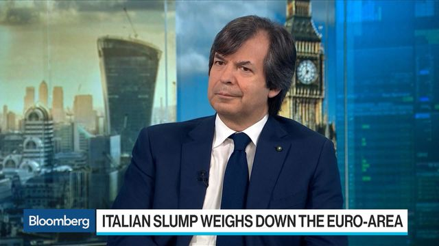 Image result for One Italian Bank Chief Won't Join the Cheerleading Over Economy
