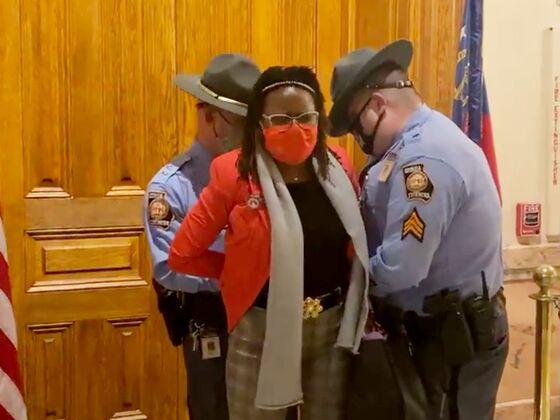 Arrest of Georgia Lawmaker Sharpens Debate on Voting Bills