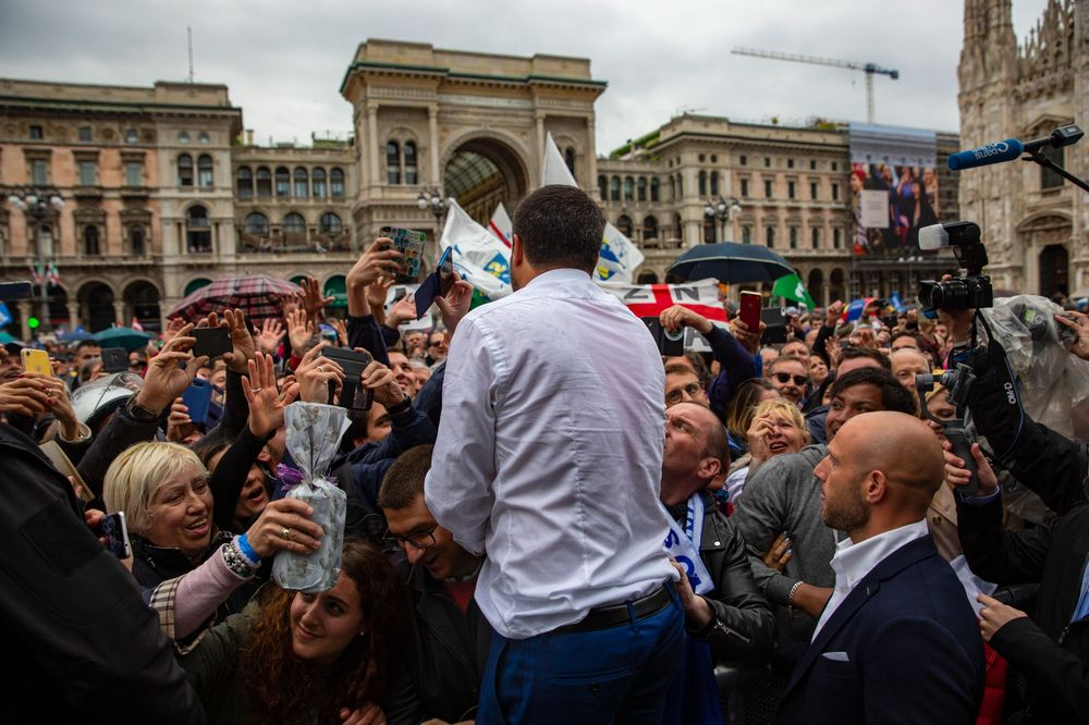 Salvini May Soar in Polls But His Takeover of Italy Hit a Snag