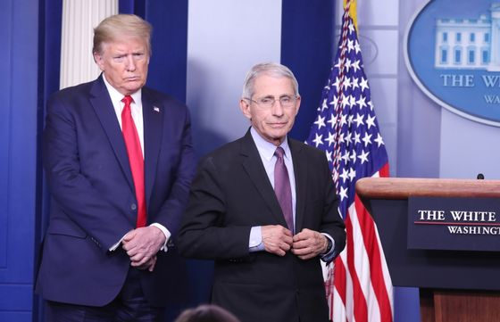 Trump Downplays Fauci Rift, Now Says Pair Has Good Relationship