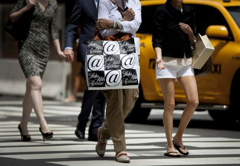 Consumer Comfort Reaches Five-Year High as U.S. Top Earners Gain