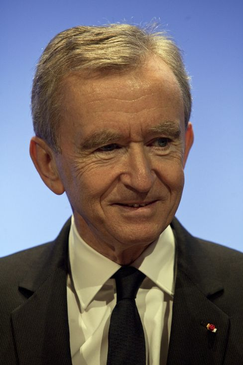 LVMH Moet Hennessy Louis Vuitton CEO Bernard Arnault