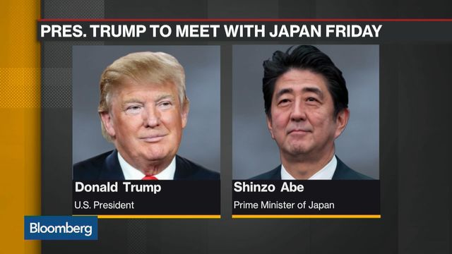Japan's Abe Says US, Japan Leaders Working On New Economic Dialogue