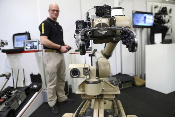 The U.S. Army Is Turning to Robot Soldiers
