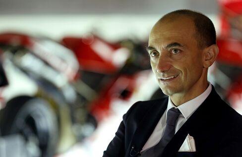 Ducati's Chief Executive Officer Claudio Domenicali